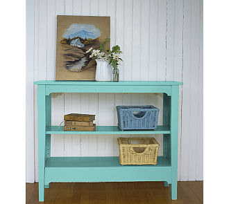 Painted cottage bookcase 179 00 8 pretty colors