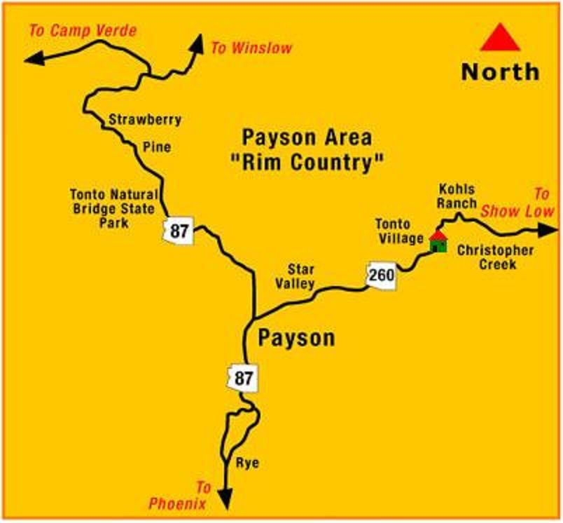 Payson Az Cabins Quality Inn Payson Informationen Und