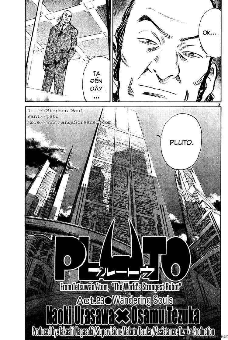 Pluto chapter 23 trang 4