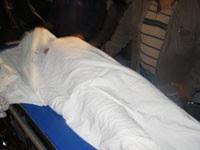Víctima de la represión en la ciudad de Sucre
