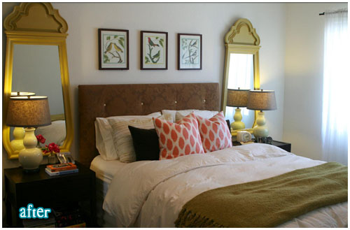 Creative Outpour: Mirrors Over Nightstands?