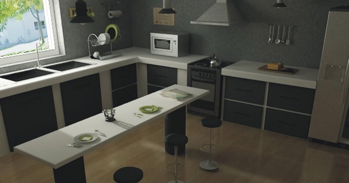 studio Pruebas de iluminación cocina