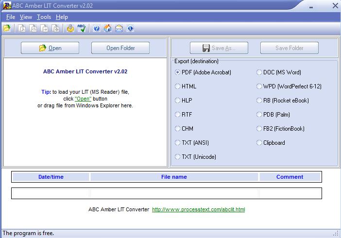 convert lit to pdf ubuntu