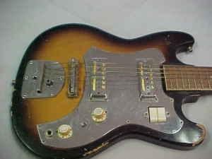 craigslist vintage guitar hunt teisco guitar with pair gold foil pickups in austin tx for 95. Black Bedroom Furniture Sets. Home Design Ideas