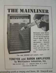 Craigslist Vintage Guitar Hunt: 1966 Teneyck guitar amp in ...
