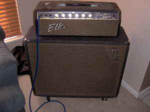 Craigslist Vintage Guitar Hunt Elk Vintage Tube Head And