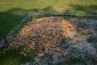 A big pile of rocks