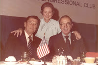 Governor Ronald Reagan, Dot Helms, and Senator Jesse Helms