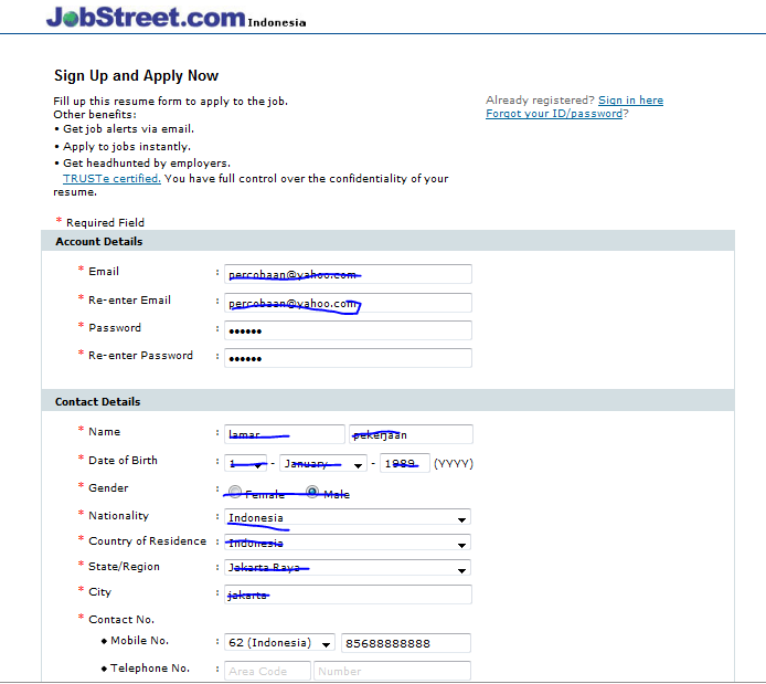 gebuh blog: jobstreet Travel Officer
