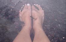 Caminando en la mar
