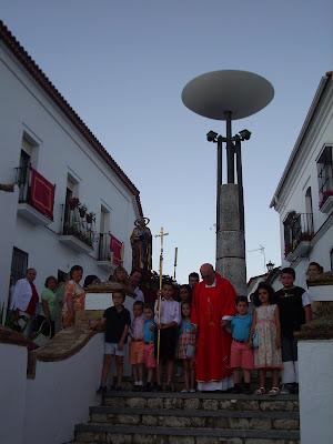 Velá de San Pedro en Aracena
