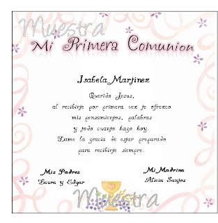invitaciones de primera comunion digitales