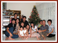 Our Christmas family reunion with 3 relatives