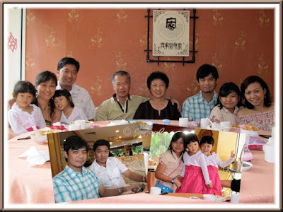 Snapshots of my beloved family