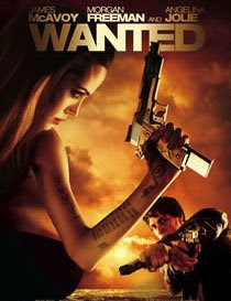 Movie poster 'Wanted'