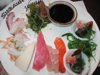 Darren's fresh seafood platter