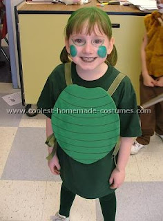 disfraz casero de tortuga