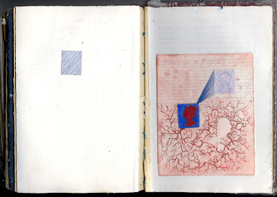 Erin Curry art-She altered book Eliza and George