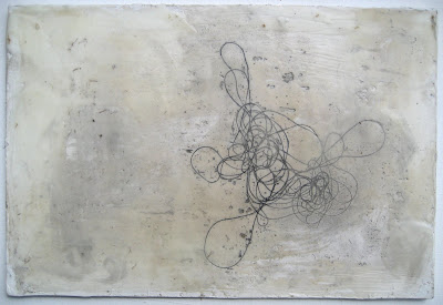 Erin Curry art- photo of string drawing