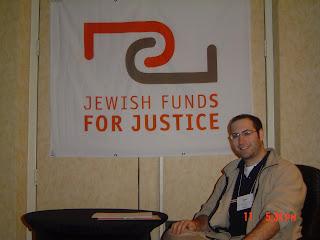 Drew at JFJ conference