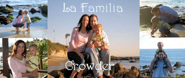 La Familia Crowder, Justin, Anna and Johnny
