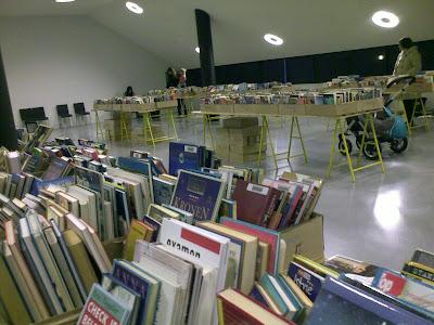 De opruiming van afgeschreven bibliotheekboeken