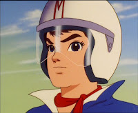 Speed Racer from the Japanese animated series.