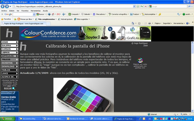 Calibrar Iphone S