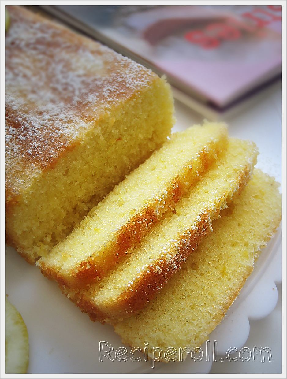Orange Yogurt Pound Cake Recipe