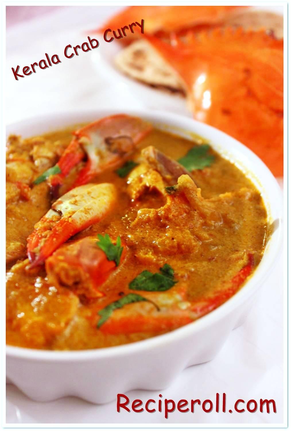 Crab Curry Kerala Style Crab Curry In Coconut Milk By Recipe Roll