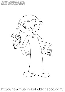 New Muslim Kids: Coloring Pages for Free