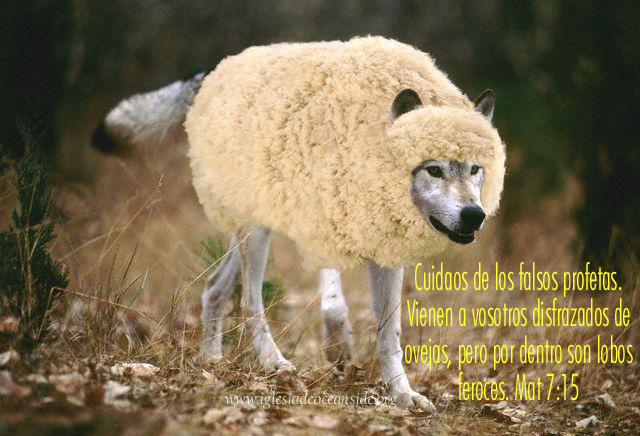 MATEO 7:15 »Cuídense de los falsos profetas.