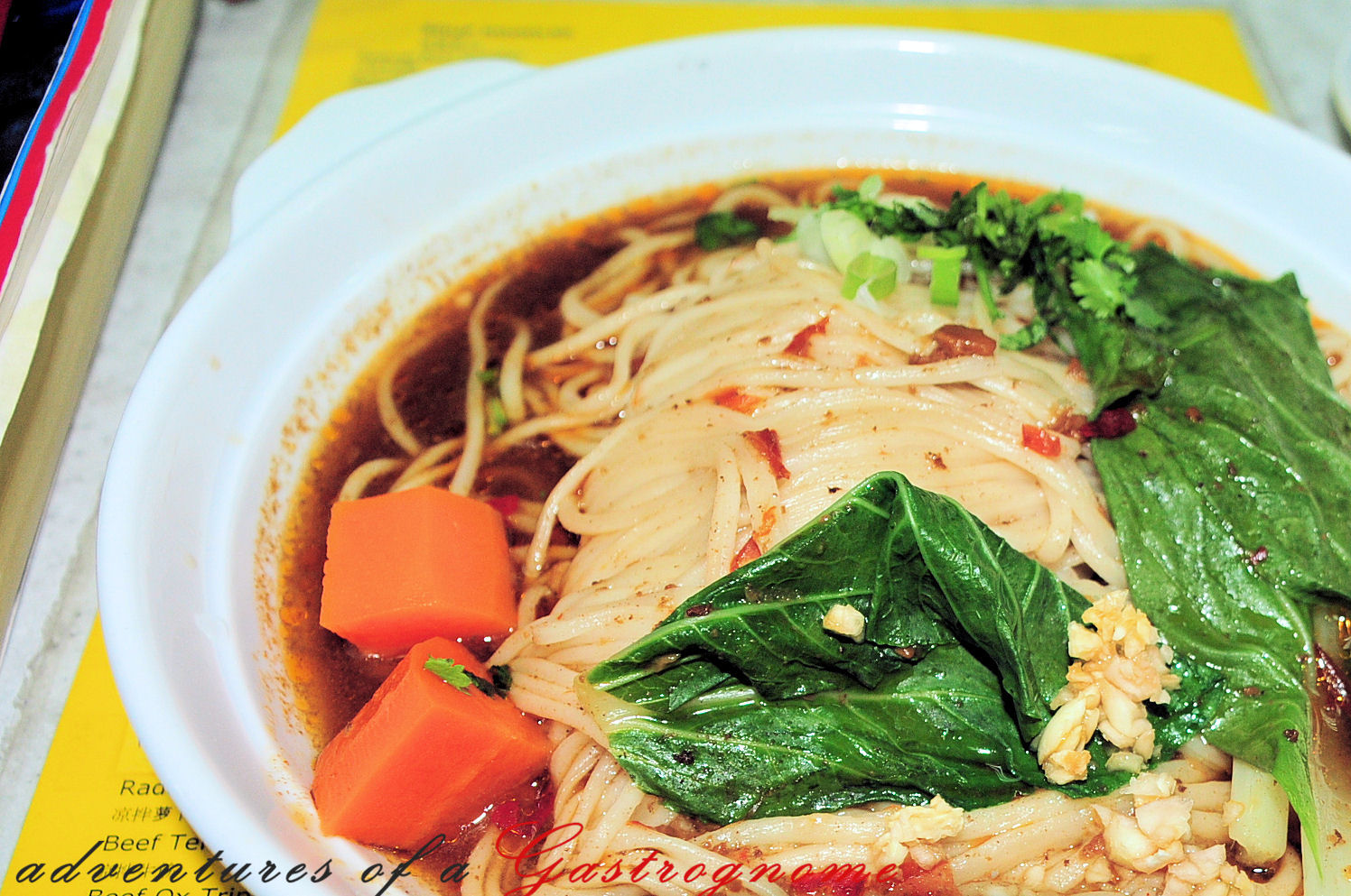 Adventures of a Gastrognome: Shanghai Hand-Pulled Noodles vs