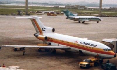 Roll Out Ladeco Y Sus Boeing 727 Qu Fue De Ellos