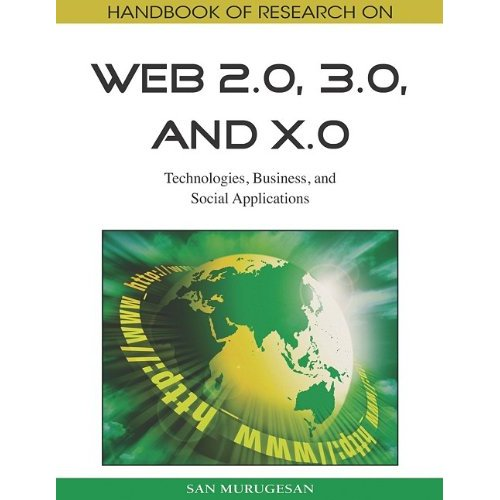 New book on Web 2.0, Web 3.0 and Web X.o