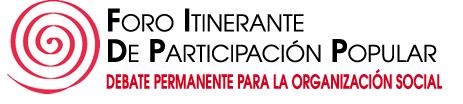 FORO ITINERANTE DE PARTICIPACION POPULAR