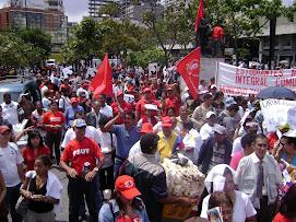 MARCHA CONTRA EL PARAMILITARISMO (06 DE MARZO DE 2008)
