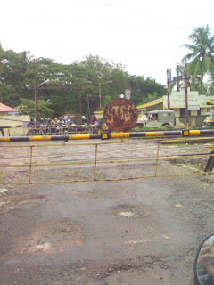 ernakulam souh railway crossing