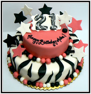 21st Birthday Cake Ideas On Balloon And Combo We Can Create With This