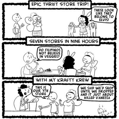 the epic thrift trip