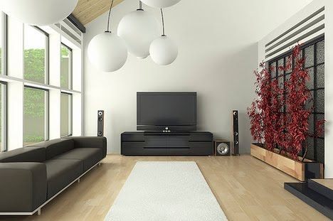 minimalist living room image inspiring | Extreme Minimalist Living Inspiration