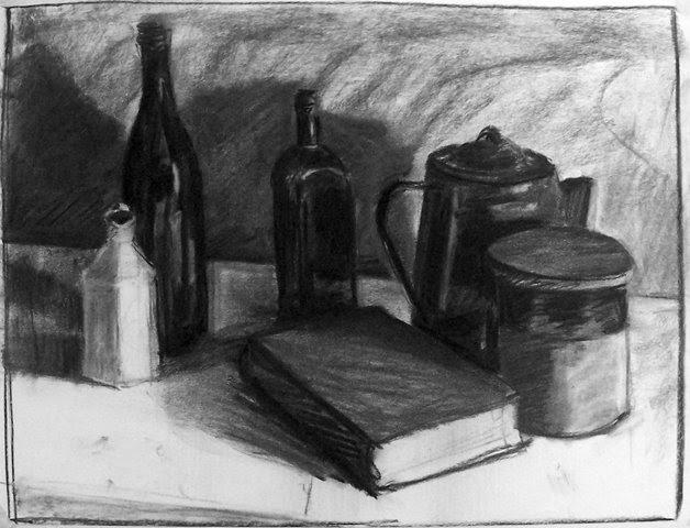 Rainbarrow Studio: Charcoal Drawings