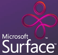 Microsoft surface computer