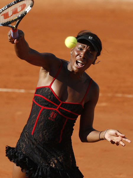 Wallpaper World Venus Williams French Open Outfit