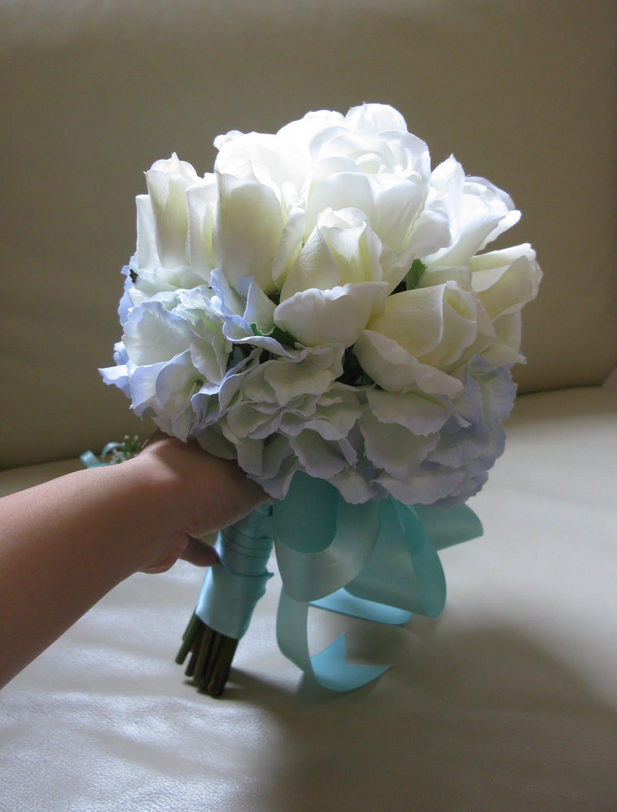 hydrangea light blue bouquet - Google Search | Blue ... |Light Blue Hydrangea Bouquet