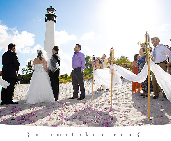 Another Beautiful Wedding Held At The Bill Baggs State Park In Key Biscayne Jorge And Melissa Were A Lovely Pleasure To Work With