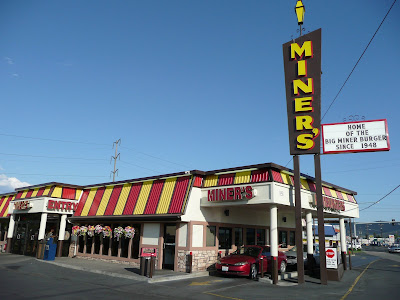 In Town To See A Of The Yakima Reds We Stopped By Miner S Drive After Having Read Raving Reviews On Variety Websites