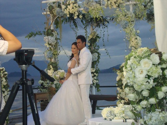 Kristine Hermosa, Oyo Boy Sotto Wedding Photos!