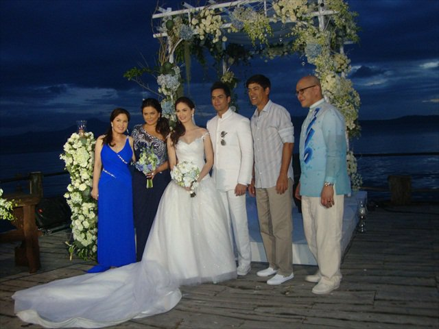 Kristine Hermosa, Oyo Boy Sotto Wedding Photos! - Feet ...