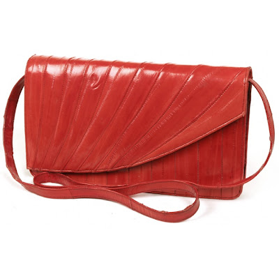 This cute and cheap ($40 rokit.com) bag may not be that big in size but is certaintly big on color!